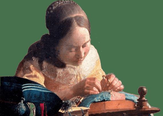 Merlettaia, Jan Vermeer