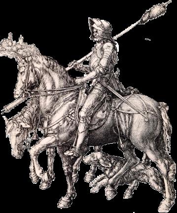 Il cavaliere la morte e il diavolo, Albrecht Dürer